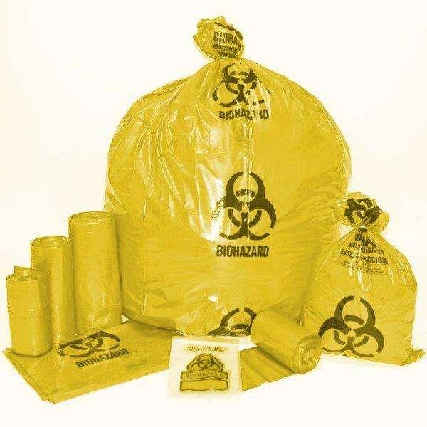 Saco para resíduo infectante